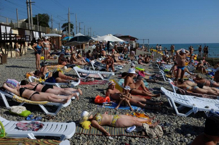 Росіяни масово скаржаться на відпочинок у Краснодарському краї