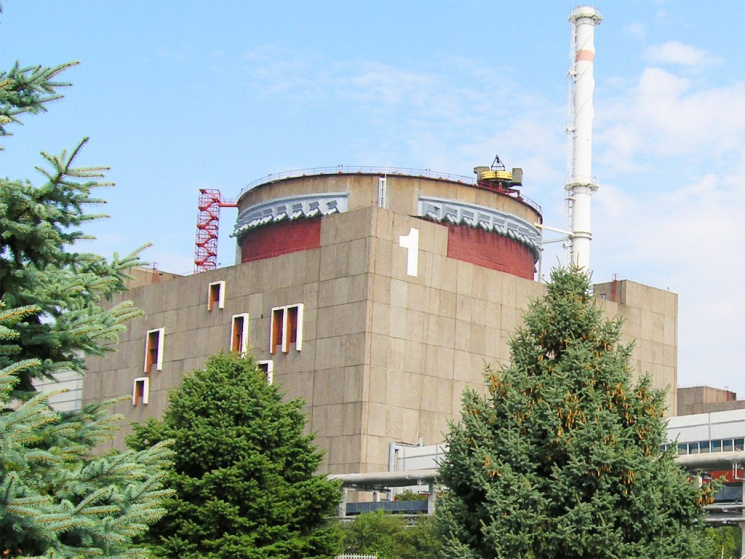 Наремонт відключено перший енергоблок Запорізької АЕС