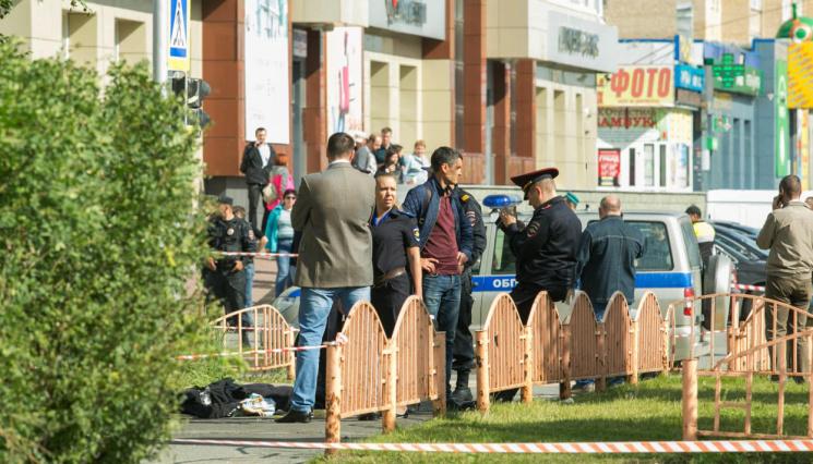 Російські телеканали проігнорували криваву різанину в Сургуті