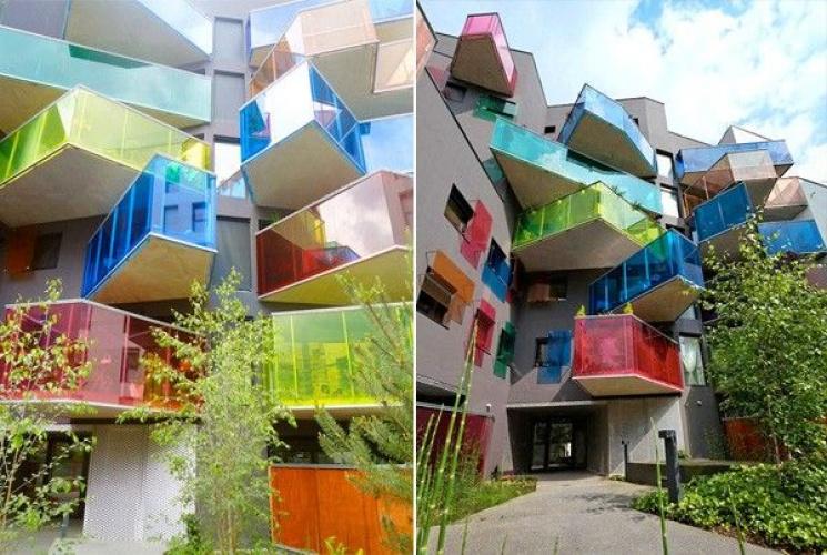 Футуристичні балкони: Світові тенденції і втілення архітекторів