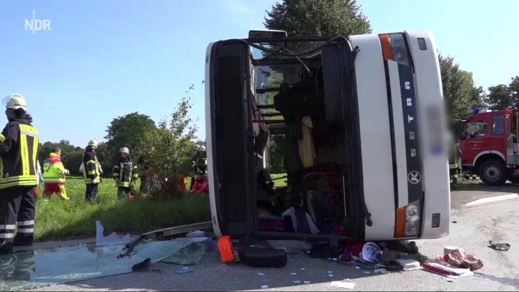 Чудовищное ДТП под Ростовом: в трагедии савтобусом пострадали неменее 20 человек