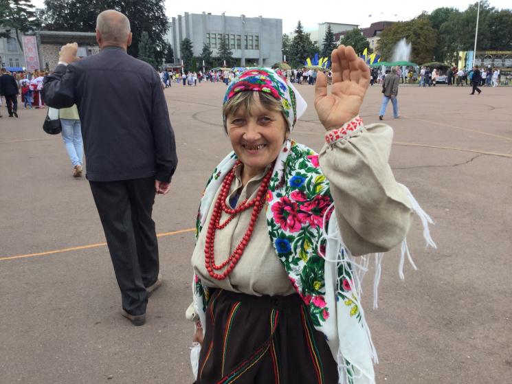 Обличчя Незалежності: Жителі Хмельниччини святкують (ФОТОРЕПОРТАЖ)