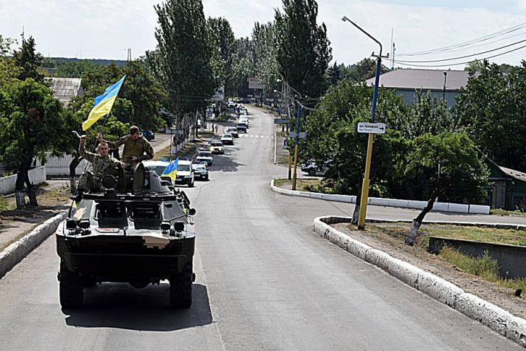 Штаб: НаДонбасі бойовики задобу 35 раз обстріляли позиції українських військових