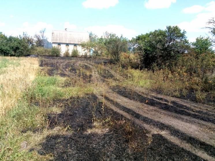 На Полтавщині сталася масштабна пожежа приватного домоволодіння (ФОТО)