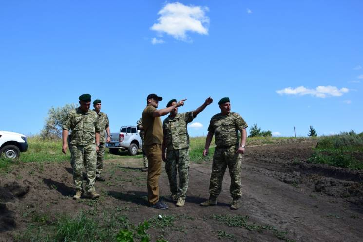 На Сумщині облаштують кордон з Росією