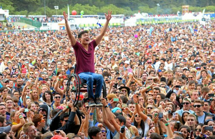 Хмельницький фестиваль Respublica облаштує комфортні подіуми біля сцен для людей з візками