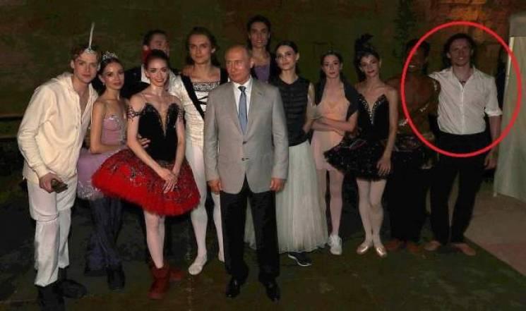 Відомий український артист балету станцював перед Путіним (ФОТО)