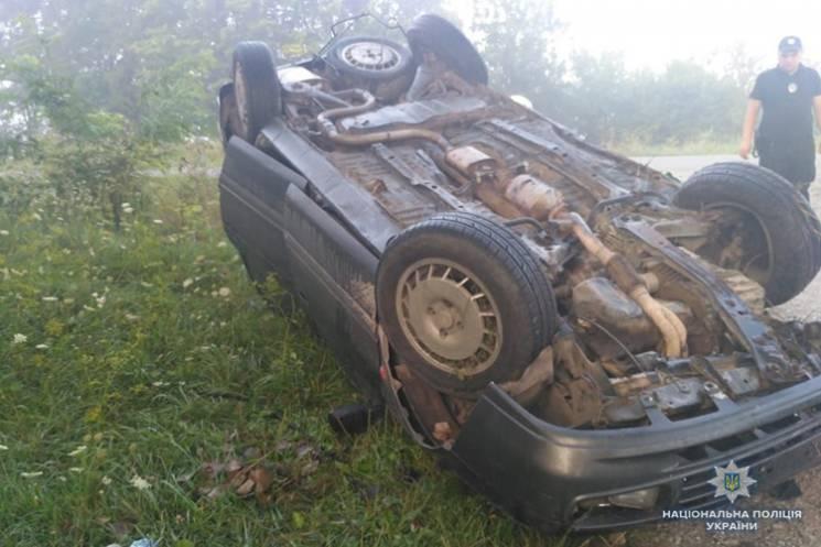 Водій та двоє підлітків травмувалися в ДТП на Тернопільщині