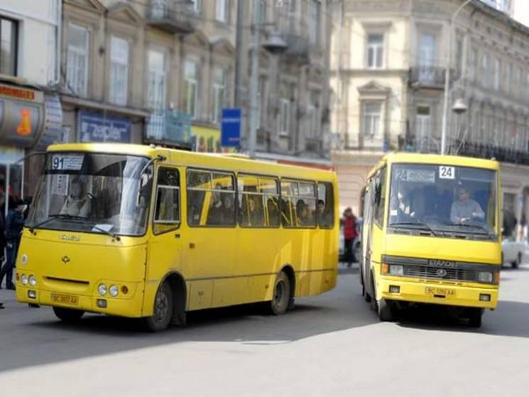 "Як найчастіше ""грішать"" водії львівських маршруток"