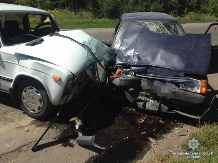 Під час аварії на Вінниччині травмувалися двоє дітей (ФОТО)