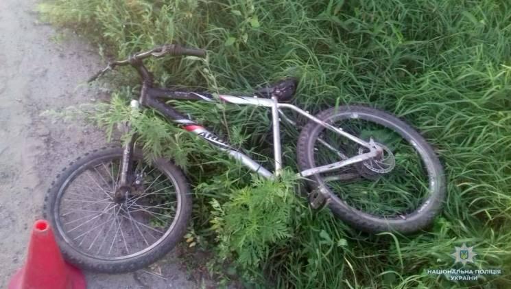 Збитий під Вінницею юний велосипедист потрапив у реанімацію (ФОТО)