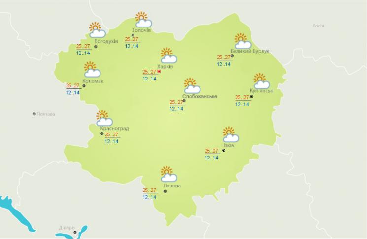 Синоптики розповіли, яку погоду 10 серпня чекати в Харкові (ФОТО)