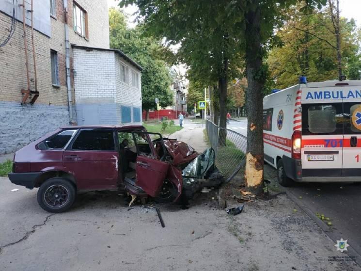 У Харкові в ДТП травмувався чоловік