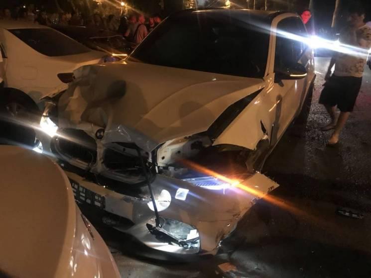 На проспекті Шевченка сталася масштабна аварія