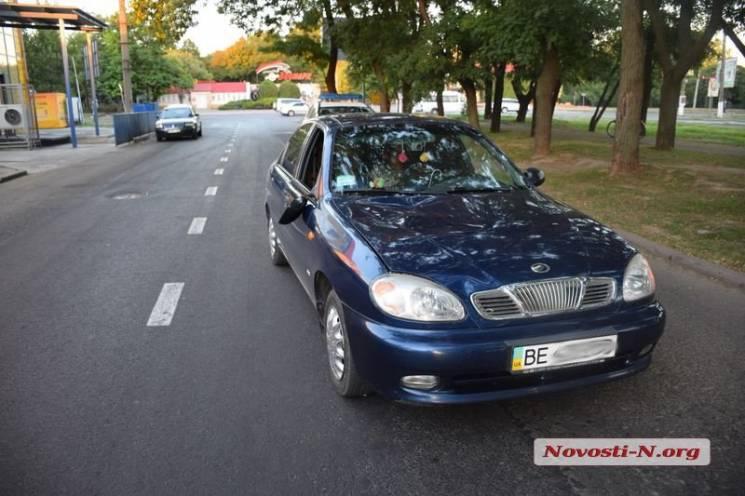 У Миколаєві легковик протаранив пішохода (ФОТО)