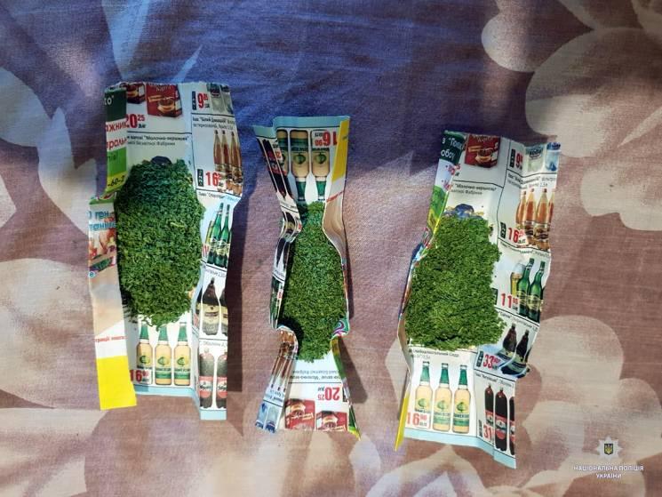 Харківська поліція забрала у наркомана 40 кущів коноплі (ФОТО)