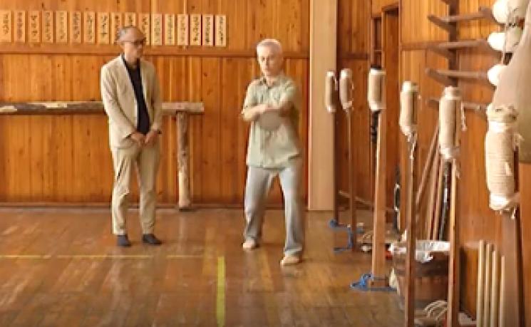 Посадовцю з Японії показали, як ремонують карате-центр у Кропивницькому