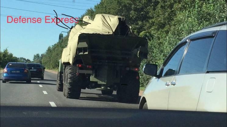 """У мережі з'явилося перше фото САУ """"Богдана"""""""