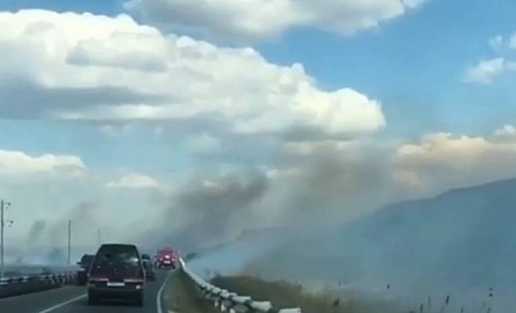 Велика пожежа під Анапою стався в результаті підпалу