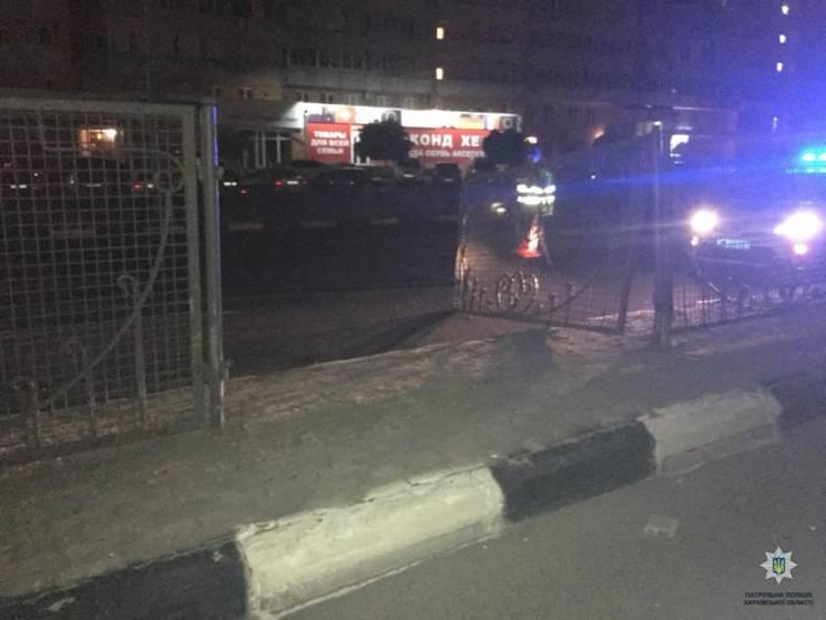 На проспекті Гагаріна п'яний водій зніс паркан