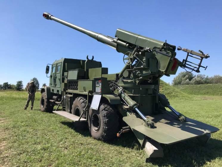 """Богдана"" отримала новий український 155-мм ствол"