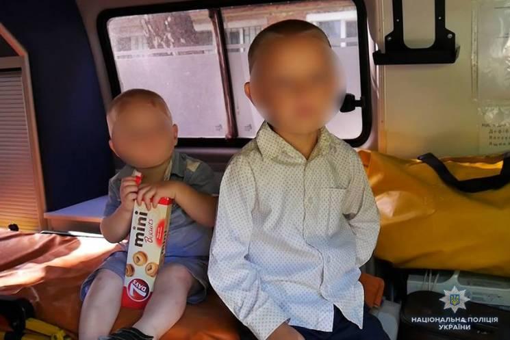 Стали відомі подробиці затримання жінки, що намагалася продати дітей у Хмельницькому (ФОТО)