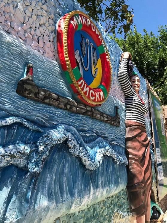 У Бердянську додали барв веселому символу популярного курортного мікрорайону (ФОТО)