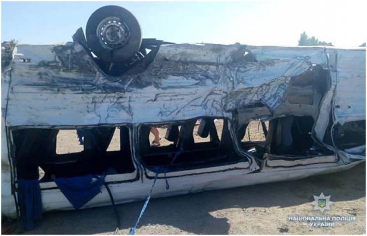 ДТП із курортною маршруткою на Запоріжжі: Шестеро людей загинули, 13 травмовані (ФОТО)