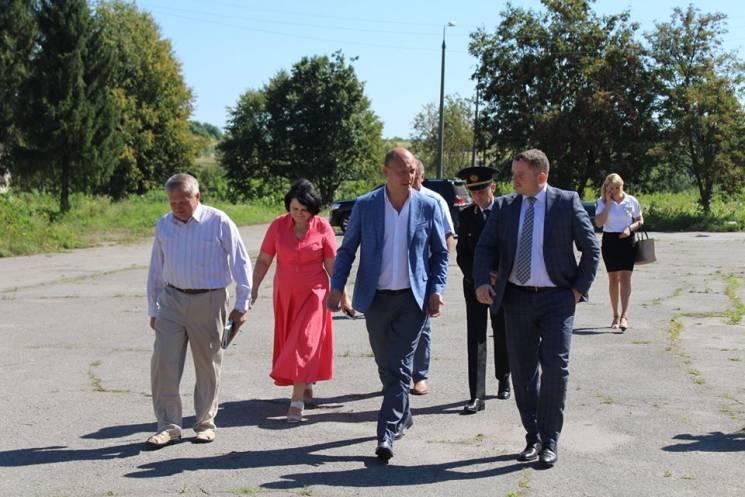 На Хмельниччину прибув очільник Державної служби України з безпеки на транспорті (ФОТО)