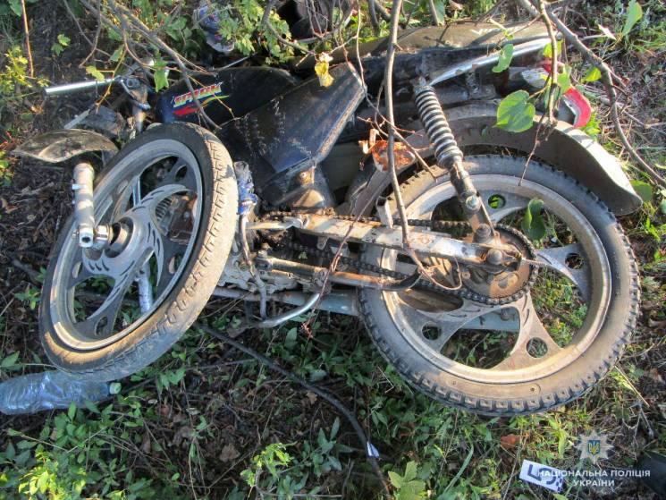 На Вінниччині загинула 15-річна пасажирка мопеда (ФОТО)