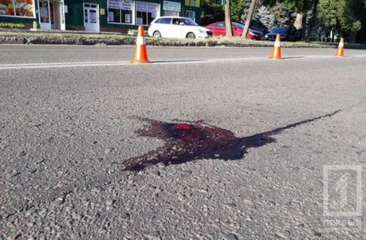 У Кривому Розі інкасаторська автівка на пішохідному переході збила чоловіка (ФОТО)