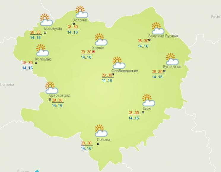 У Харкові посилиться спека (ФОТО)