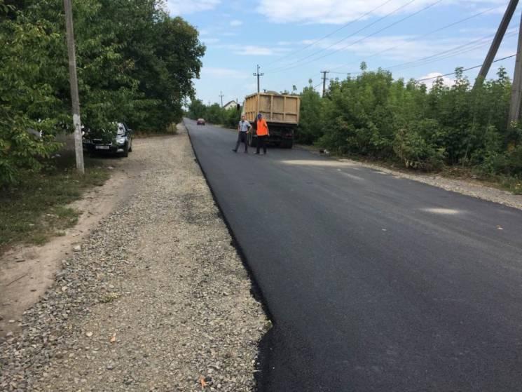 На Берегівщині відремонтовано автодорогу до кордону з Угорщиною (ФОТО)