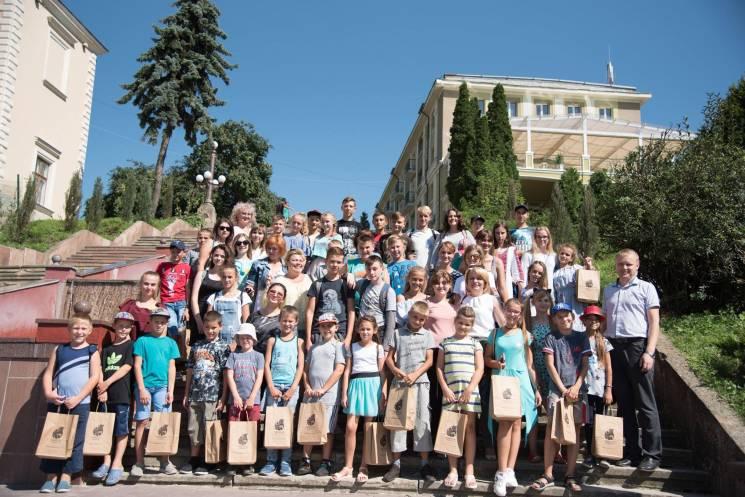 Діти учасників АТО з Херсонщини відпочив…