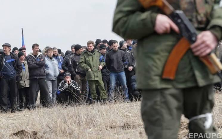 """В """"ДНР"""" знову збирають """"резервістів"""": Тим, хто не з'явиться, погрожують розшуком"""