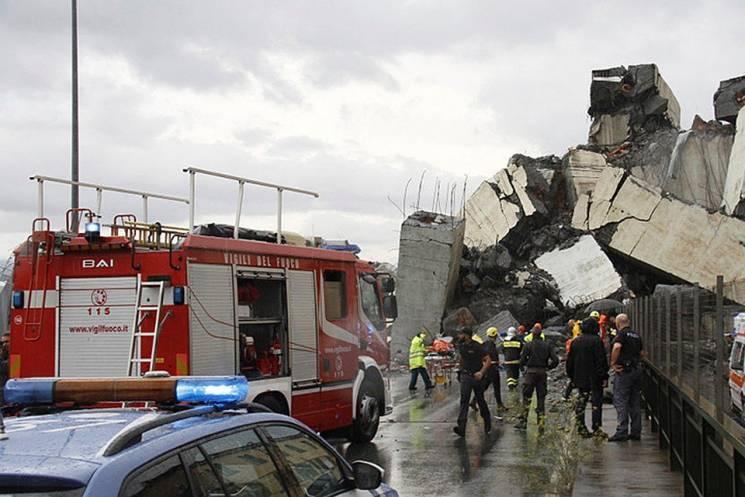 Офіційно: Під час обвалу мосту в Генуї постраждали українці