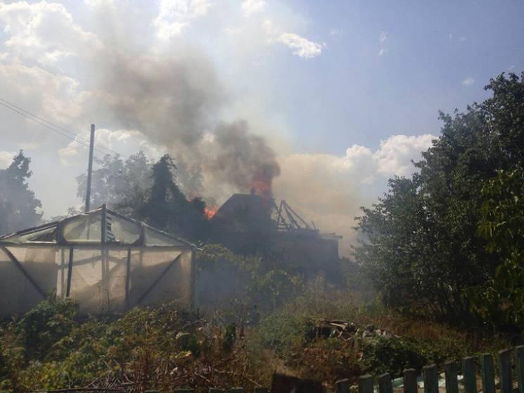 У Кременчуці сталася масштабна пожежа на…