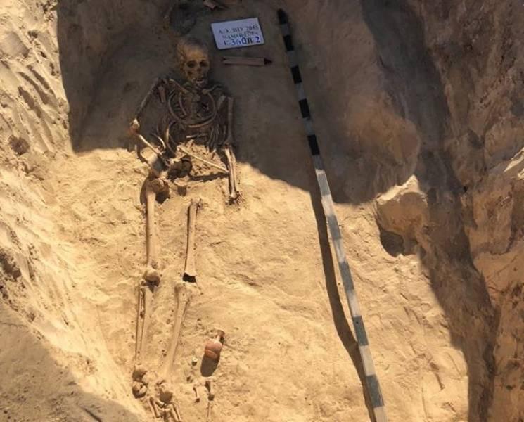 На запорізькій Мамай-горі знайшли похова…