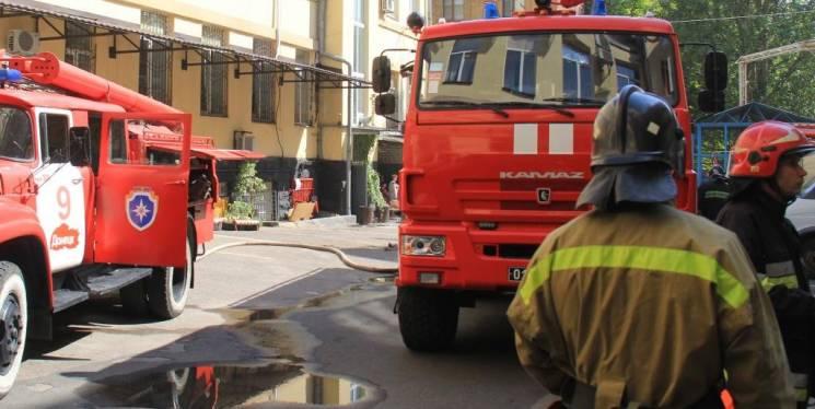 Стали відомі подробиці пожежі в центрі Донецька (ФОТО)