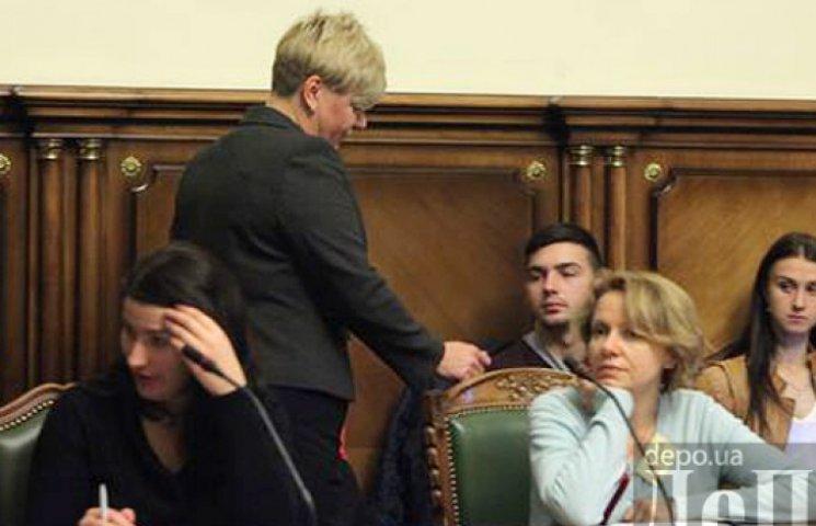 Гонтарева подасть у відставку вже цього тижня - ЗМІ