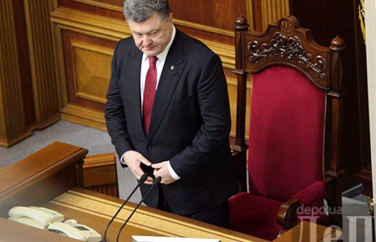 Порошенко предлагает Раде оставить министрами Климкина и Полторака