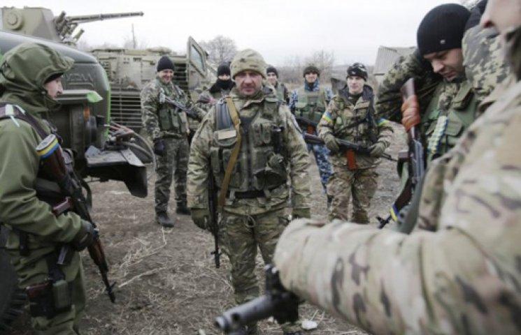 Рядом с украинцами против боевиков сража…