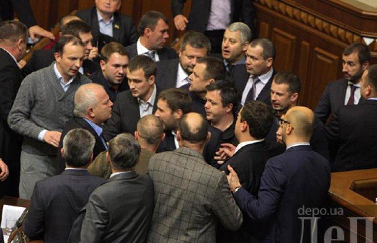 Потолкавшись, Рада проголосовала за состав комитетов