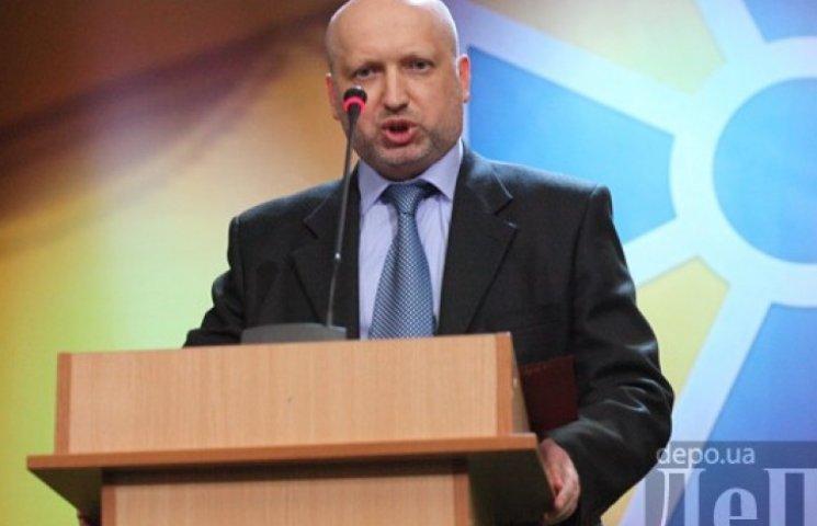 Турчинов приміряє крісло секретаря РНБО