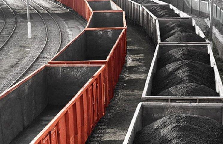 «Укрзалізниця» почала вивозити вугілля з Донбасу