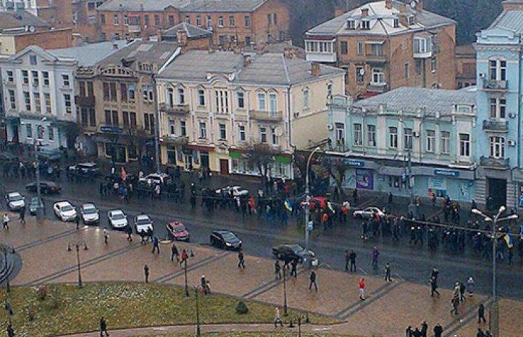 Вінниця бунтує проти сепаратизму: на вулиці вийшли люди