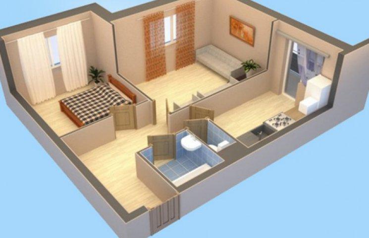 Двухкомнатная квартира – «золотая середина»?
