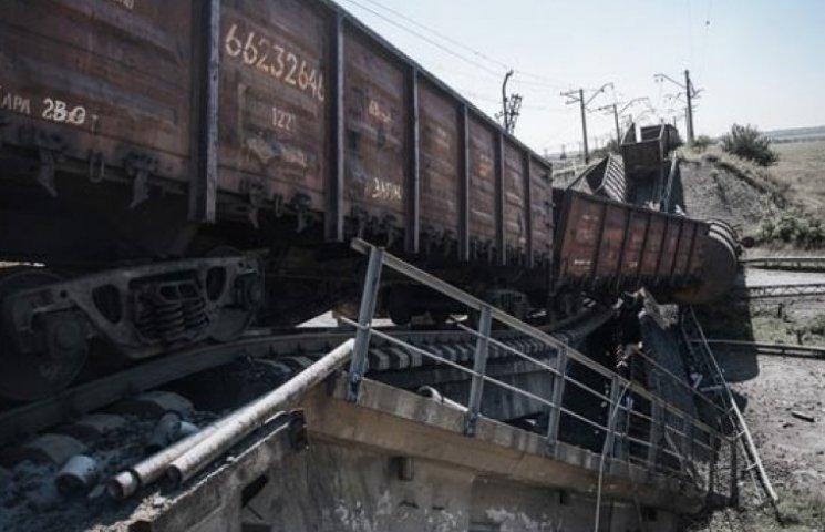 Під час війни на Донбасі зруйновані вже 30 мостів «Укрзалізниці»