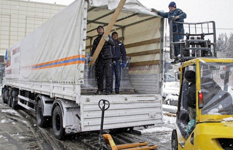 Девятый «гумконвой» из РФ привез боевикам топливо для танков – Порошенко