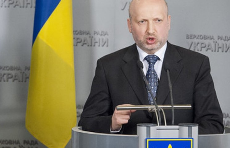 Турчинов рассказал о введении военного положения в случае «реальной угрозы»